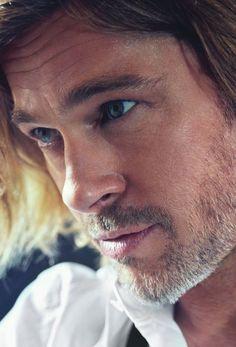 Brad Pitt (by Mario Sorrenti) #celebs