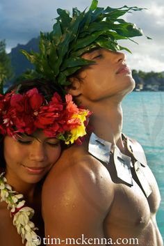 The Islands of Tahiti ~ this most awesome picture is by photographer Tim McKenna