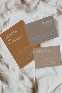 This terracotta wedding invitation template suite features a minimalist design highlighting the couple's names and bohemian colors. You can edit the text, font color, background color to add your own accent and match to your event style! 100% editable invitation suite with digital download! #terracottawedding #minimalistinvitations #terracottaweddinginvitations