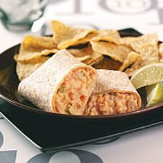 Hearty Bean Burritos - Healthy, quick Diabetic friendly