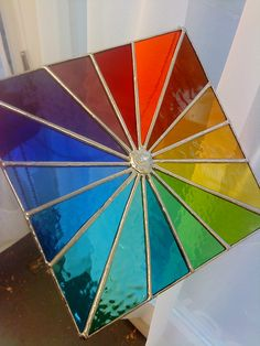 Spectrum Square Beautiful Multicoloured door pewtermoonsilver