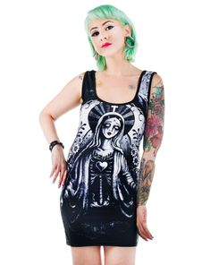 BETTIE DRESS - ZOMBIE MARY