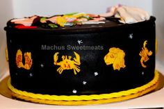 Tarta de los caballeros del Zodiaco, Cake of the knights of the zodiac