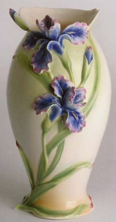 franz porcelain vase