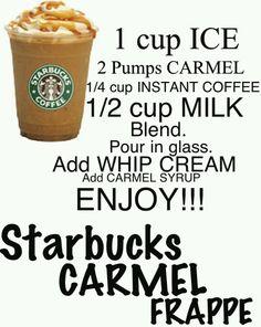 Coffee Drink Recipes, Milkshake Recipes, Easy Smoothie Recipes, Coffee Drinks, Coffee Coffee, Coffee Break, Morning Coffee, Secret Starbucks Recipes, Starbucks Drinks