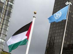 Filistin bayrağı ilk kez BM'de