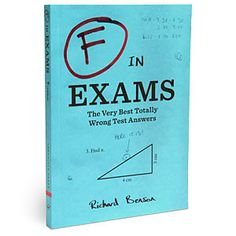 """""""F"""" in Exams - I LOVE these!!!  $10"""
