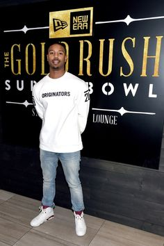 6b4f26c7a86a Michael B. Jordan Photos - Actor Michael B. Jordan attends the New Era Style  Lounge at The Battery on February 2016 in San Francisco