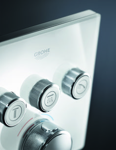 GROHE SmartControl's minimalistics looks emphasize the elegance of every bathroom. Meet the shower system with the sophisticated look that upvalues every bath's interior design. #GROHE #Grohesmartcontrol #smartcontrol #smart #control #shower #showersystem #spray #spraypattern #relax #relaxation #home #interior #interiordesign #bath #bathroom #effortless #slim #beautiful #instadesign #smarthome #innovation #rain #massage #mizzle #massage