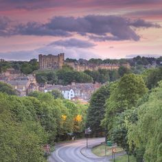 Durham Castle at Sunset