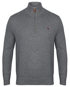 Ralph Lauren Polo Mens Half Zip Jumper Various Colours S - XXL (Medium, Dark Grey) No description (Barcode EAN = 3614710789444). http://www.comparestoreprices.co.uk/december-2016-5/ralph-lauren-polo-mens-half-zip-jumper-various-colours-s--xxl-medium-dark-grey-.asp