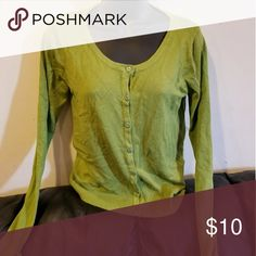 Green cardigan Cardigan so comfortable  Very soft Sweaters Cardigans