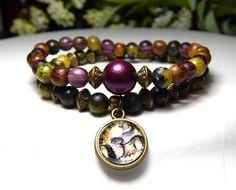 Yoga Om Charm Bracelet