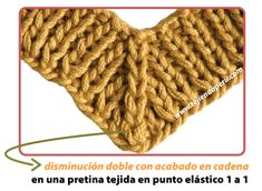 Knitting Help, Knitting For Kids, Knitting Projects, Crochet Projects, Sweater Knitting Patterns, Knitting Stitches, Knit Patterns, Crochet Motif, Crochet Lace