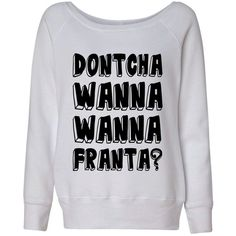 Dontcha Wanna Wanna Franta Connor O2L Our 2nd Life Second Wideneck... ($28) ❤ liked on Polyvore featuring tops, hoodies, sweatshirts, sweaters, slouchy tops, gray sweatshirt, grey sweatshirt, white sweatshirt ve grey top