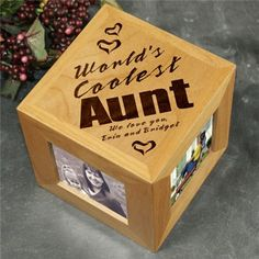 Gift idea from kids to aunt