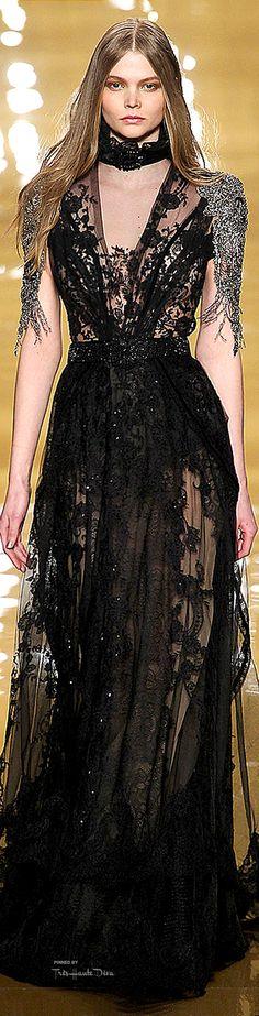 New York Fashion Week.          Reem Acra.         Fall 2015.          Ready-To-Wear.