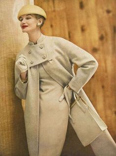 Photo by Roger Prigent, February Vogue 1956: