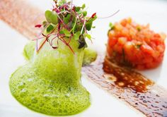 Chef Ludek Munzar: modern European dishes with a touch of molecular gastronomy cuisine. #plating #presentation