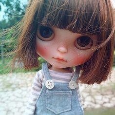 #cheriebabette #fbl #blythe #customblythe #blythecustom #doll #k07 #k07doll