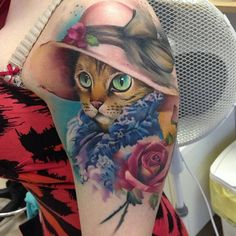 45 Cute Cat Tattoo designs and ideas - Spiritual luck