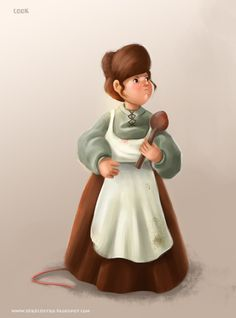 children's characters by sara castro, via Behance