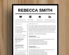 modle de cv cratif modle de cv instant par cvdesignco sur etsy plus creative resume templatesprofessional - Resume Sample Professional