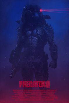 Predator 2 by Yvan Quinet - Home of the Alternative Movie Poster -AMP- Alien Vs Predator, Predator Cities, Predator Cosplay, Predator Movie, Predator Alien, Wolf Predator, Predator Helmet, Man In Black, Movie Synopsis