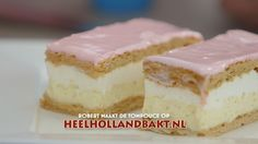 Tompoucen how to Dutch Recipes, Sweet Recipes, Baking Recipes, Cake Recipes, Dutch Bakery, Baking Bad, The Joy Of Baking, Macaron Flavors, Sweet Bakery