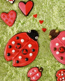 Lovebug Cookies    For a guide to decorating your cookies, download this   Lovebug Cookie template.