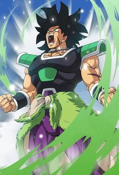 The Legendary Super Saiyan Broly find out is origins and how strong he is back in the Dragon Ball movie 8 and the recent Dragon Ball Super Movie Broly. Dragon Ball Z, Akira, Broly Movie, Super Anime, Manga Anime, Female Dragon, Animes Wallpapers, Anime Shows, Anime Characters