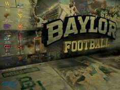 Baylor Football 2013 poster | Baylor Athletics | Pinterest ...