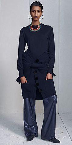 detail chompa a la cintura / CÉLINE   Collection Prêt à porter Automne 2014