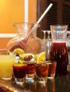 Champagne Sangria Recipe..Ahh, two favorite beverages!