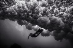 Wayne Levin shoots beautiful black and white film photographs of all things underwater and aquatic. From surfers to incredible schools of fish, Levin...