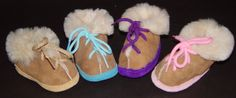 Children's Shearling Sheepskin House Shoes Sheepskin Slippers, Mittens, Moccasins, Clogs, Baby Shoes, Hats, Leather, Fashion, Penny Loafers