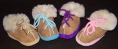 Children's Shearling Sheepskin House Shoes