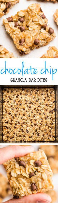 clean-eating-chocolate-chip-granola-bar-bites-recipe