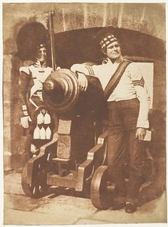 The Porthole / Sergeant and Private of the 42nd Gordon Highlanders, Edinburgh Castle Hill and Adamson (British, active 1843–1848) Date: 1843–47
