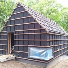 Fase5 verzorgd tekeningen en adviezen voor nieuwbouw hobbyschuur in Vogelenzang.