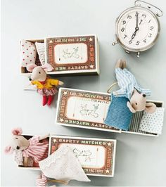 matchbox mice...