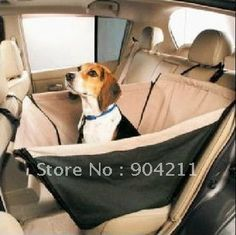 Good Quality New Hammock Pet Dog Cat 3D Car Seat Cover 55*55cm, free shipping+free gifts $30.30