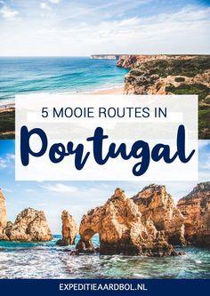 Portugal is het ideale land voor roadtrips en rondreizen. Zoek je inspiratie voor een autorondreis? Bekijk hier 5 mooie routes voor een rondreis Portugal. Best Places In Portugal, Hotels Portugal, Visit Portugal, Spain And Portugal, Road Trip Packing, Road Trip Europe, Road Trip Destinations, Road Trip Essentials, Travel Europe