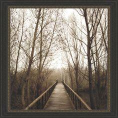 Jorge Llovet 'Right Here' Framed Print | Overstock.com Shopping - The Best Deals on Prints