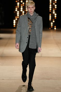 Saint Laurent | Fall 2014 Menswear Collection | Style.com