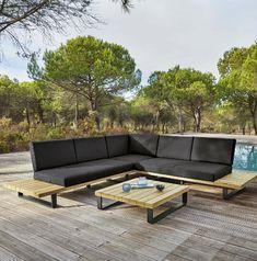 impressionnant salon de jardin en resine noir | Décoration française ...