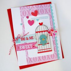 You and Me by Kathy Martin for #Doodlebug using Lovebirds