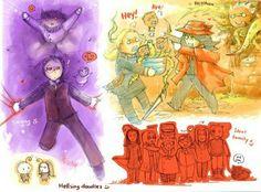 Rip Van Winkle, Angel Of Death, Butler, Princess Zelda, Anime, Fictional Characters, Art, Art Background, Kunst