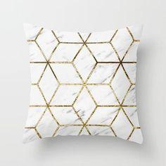 Black Golden Geometric Cushion Cover Peach Skin Pineapple Sofa Modern Decorative Pillowcases Office Living Room Home Decor - affordable home livingroom farmhouse decoration ideas Decorative Pillow Cases, Throw Pillow Cases, Decorative Cushions, Throw Pillows, Cushions On Sofa, Down Pillows, Sofa Cushion Covers, Pillow Covers, Geometric Cushions