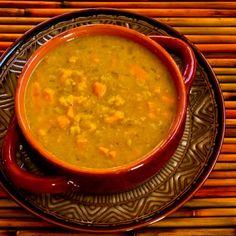 Curried Lentil Sweet Potato Soup